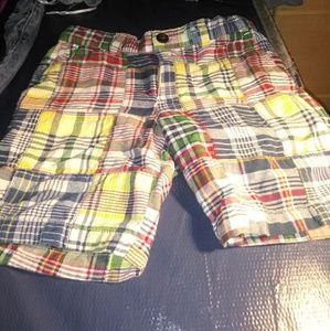Polo Ralph Lauren plaid shorts 4T